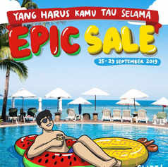 Epic Sale Traveloka 2019