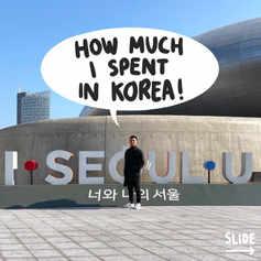 How Much I Spent in Korea