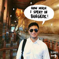 How Much I Spent in Bangkok