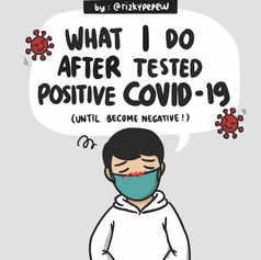What I Do After Tested Positive Covid-19