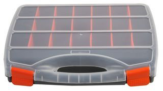 Compartment Storage Box, 60mm x 380mm x 310mm