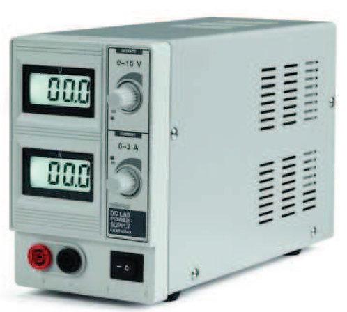 Single Output DC Bench Power Supply - 15V, 3A