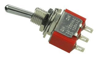 Mini Toggle Switch, SPDT (On-(On), 5A