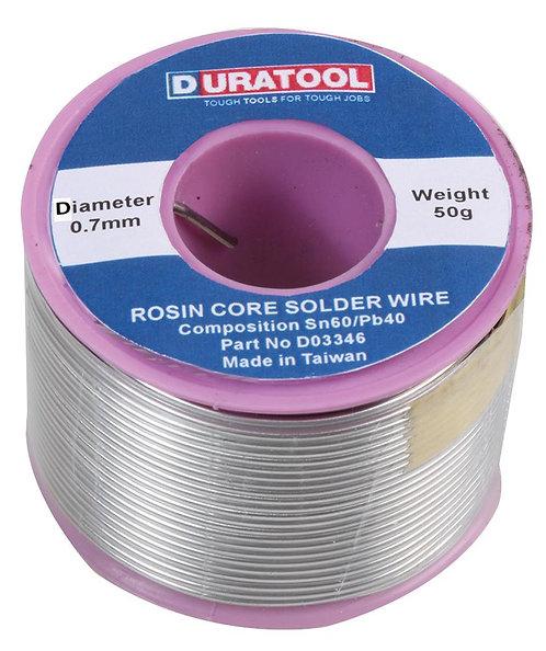 Solder Wire 60/40, 0.7mm , 50g
