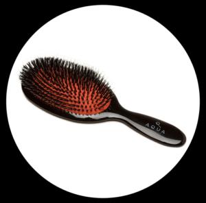 Aqua Hair Extension Shine Brush