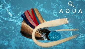 Aqua Hair Extensions and Accessories