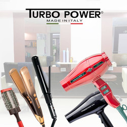 Turbo Power Hair Dryers and Flat Irons