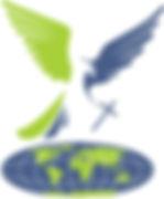 St Johns Logo letterhead blue green worl