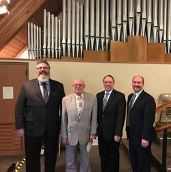 25th Anniversary Organists