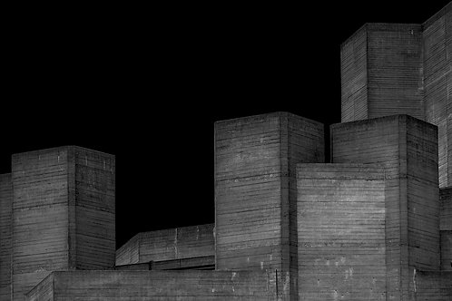 Brutalist Architecture | Minimalism | Black and White Photographs | London Architecture #25