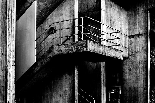 Brutalist Architecture | Minimalism | Geometry | Brunel Lecture Centre #05