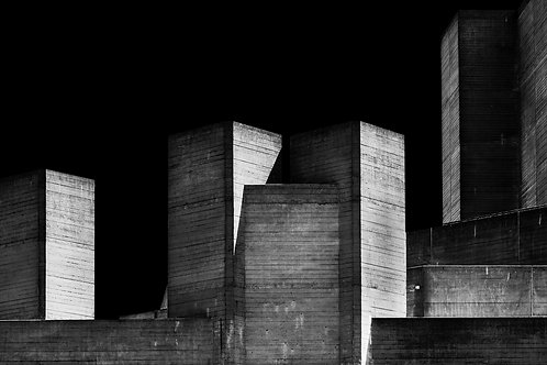 Brutalist Architecture | Minimalism | Black and White Photographs | London Architecture #18