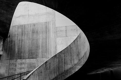 Brutalist Architecture | Minimalism | Black and White Photographs | Tate Modern #03