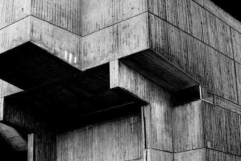 Brutalist Architecture | Minimalism | Geometry | Brunel Lecture Centre #06