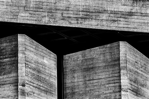 Brutalist Architecture | Minimalism | Black and White Photographs | London Architecture #61