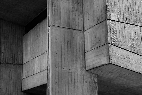 Brutalist Architecture | Minimalism | Geometry | Brunel Lecture Centre #10