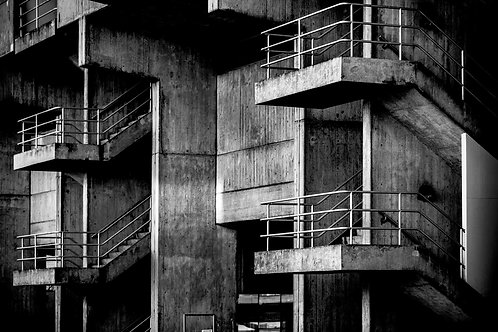 Brutalist Architecture | Minimalism | Geometry | Brunel Lecture Centre #02