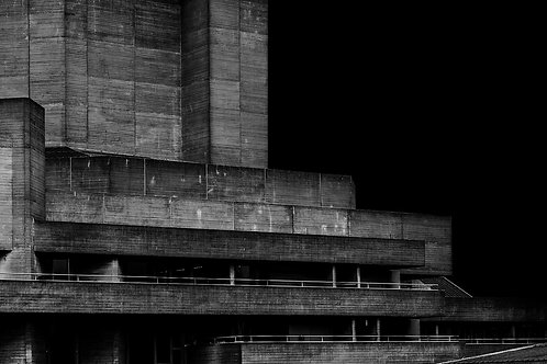 Brutalist Architecture | Minimalism | Black and White Photographs | London Architecture #73