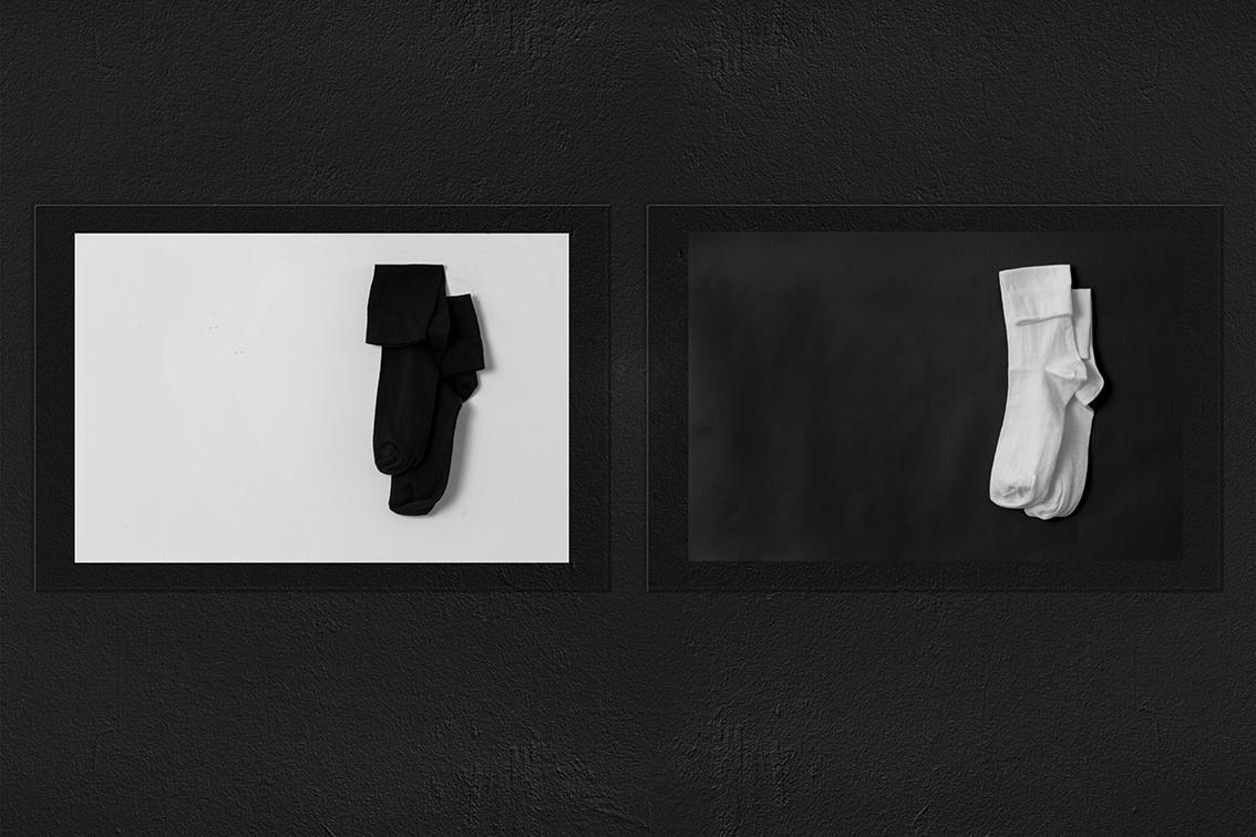 Socks / Black & White