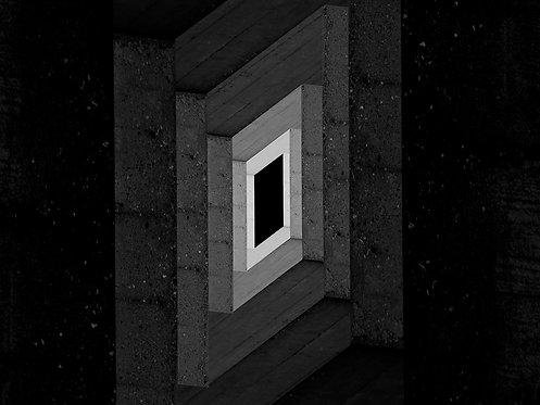 Abstract Geometry   Minimalism   Optical Concrete #08