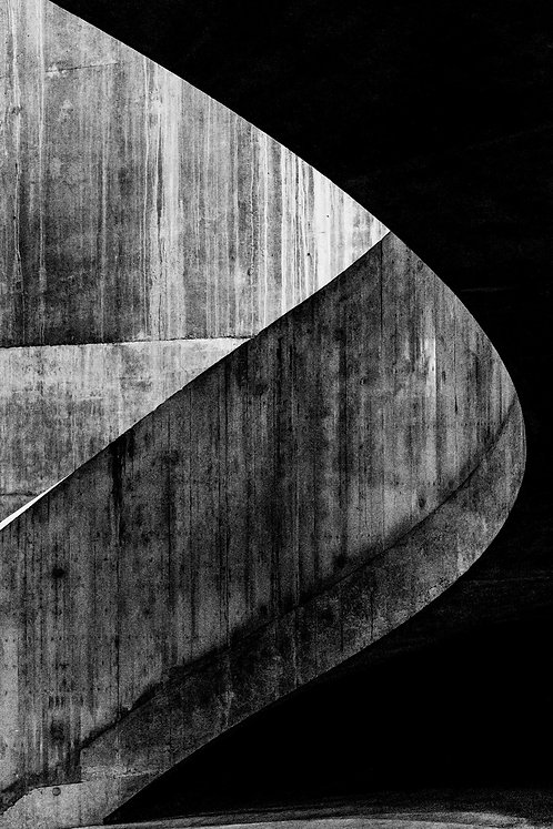 Brutalist Architecture | Minimalism | Black and White Photographs | Tate Modern #06