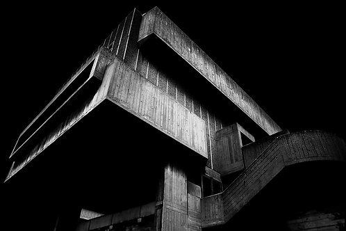 Brutalist Architecture | Minimalism | Black and White Photographs | London Architecture #15