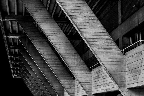 Brutalist Architecture | Minimalism | Black and White Photographs | London Architecture #11