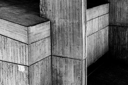 Brutalist Architecture | Minimalism | Geometry | Brunel Lecture Centre #20