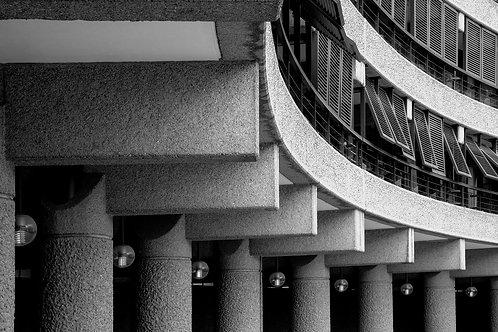 Brutalist London | Minimalism | Geometry | Barbican London #19