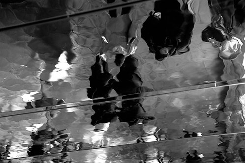 Black and White Photographs | Abstract Art | Mirrors | London Mirrors #09