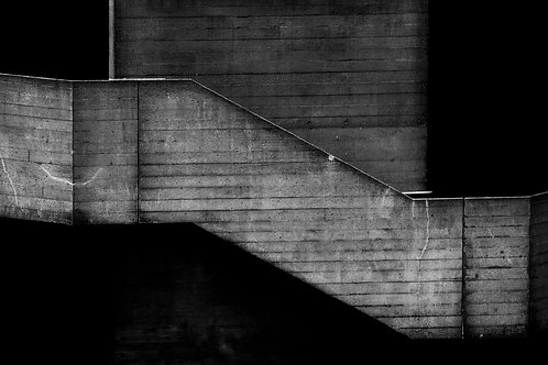 Brutalist Architecture | Minimalism | Black and White Photographs | London Architecture #44