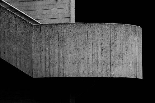 Brutalist Architecture   Minimalism   Black and White Photographs   London Architecture #37