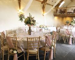 Wedding at The Oak Barn.
