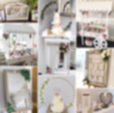 Wedding accessory package available for hire for weddings in Devon & Torbay.