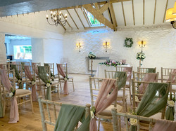 Wedding at the Bickley Mill.