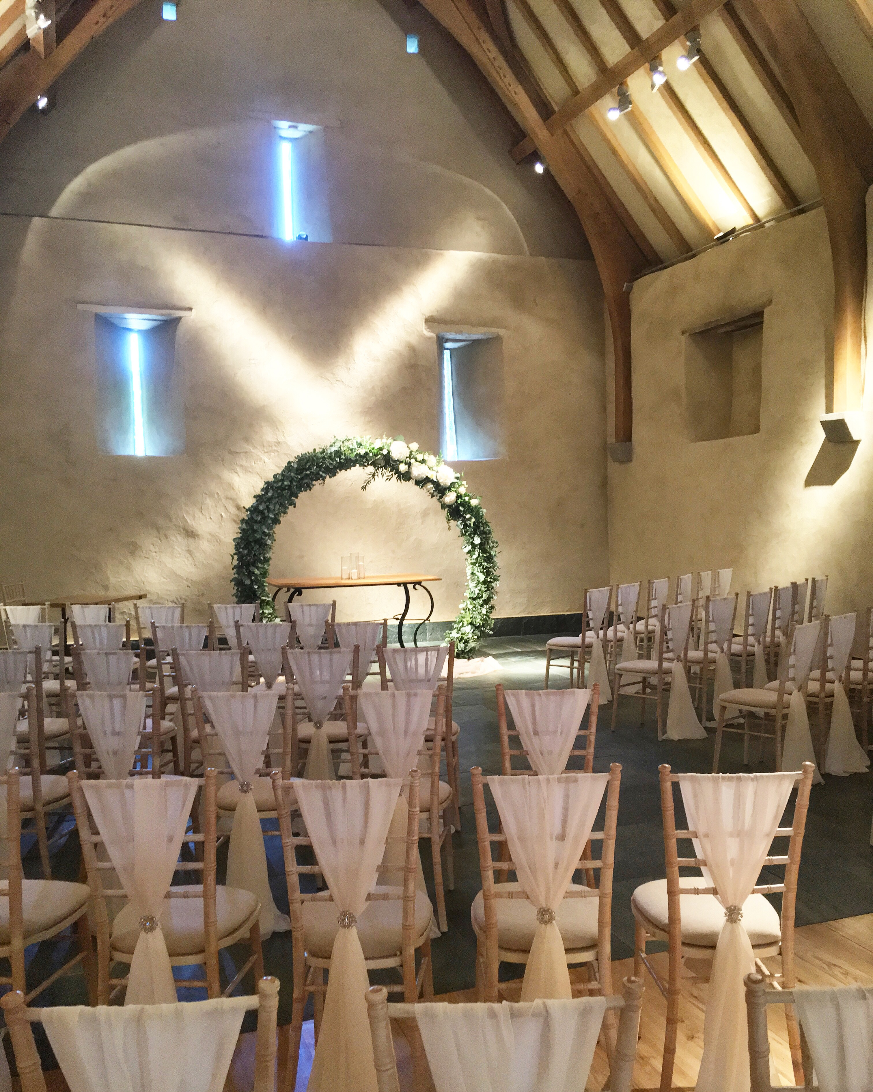 Wedding at The Great Barn.