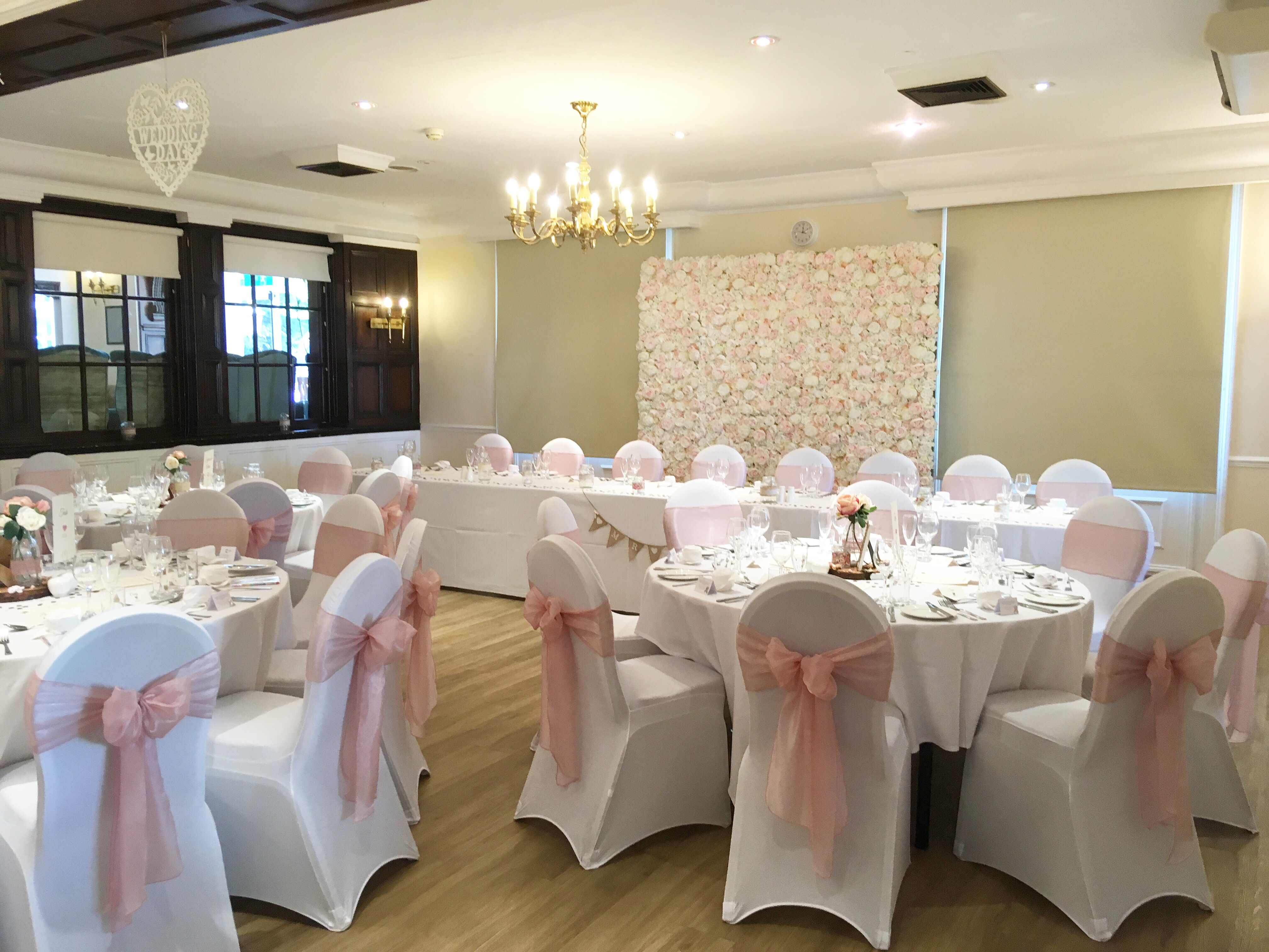 Wedding at the Buckerell Lodge Hotel.