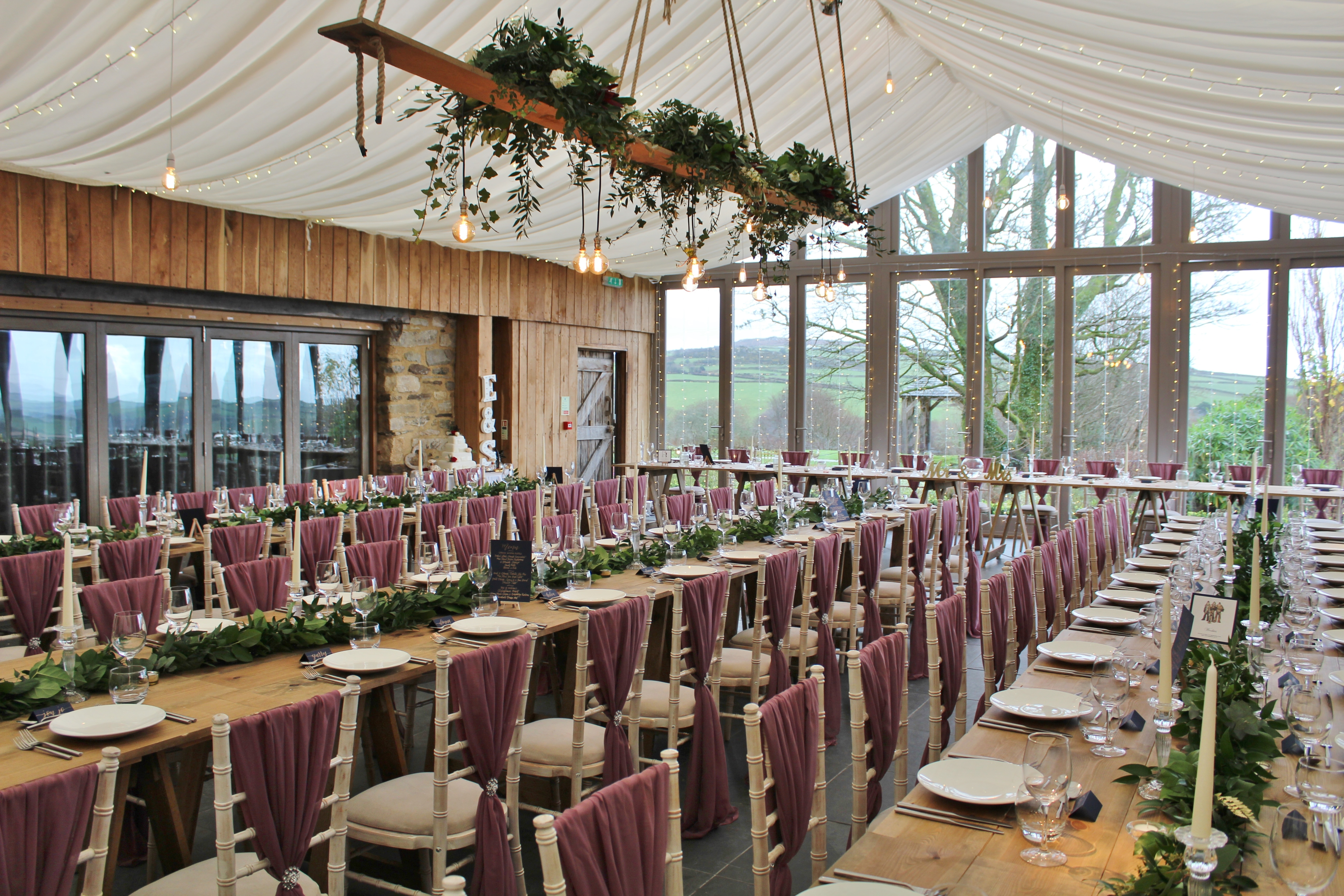 Wedding at Trevenna Barns.