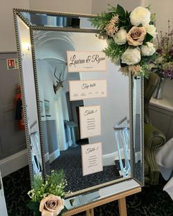 Wedding at the Elfordleigh Hotel.