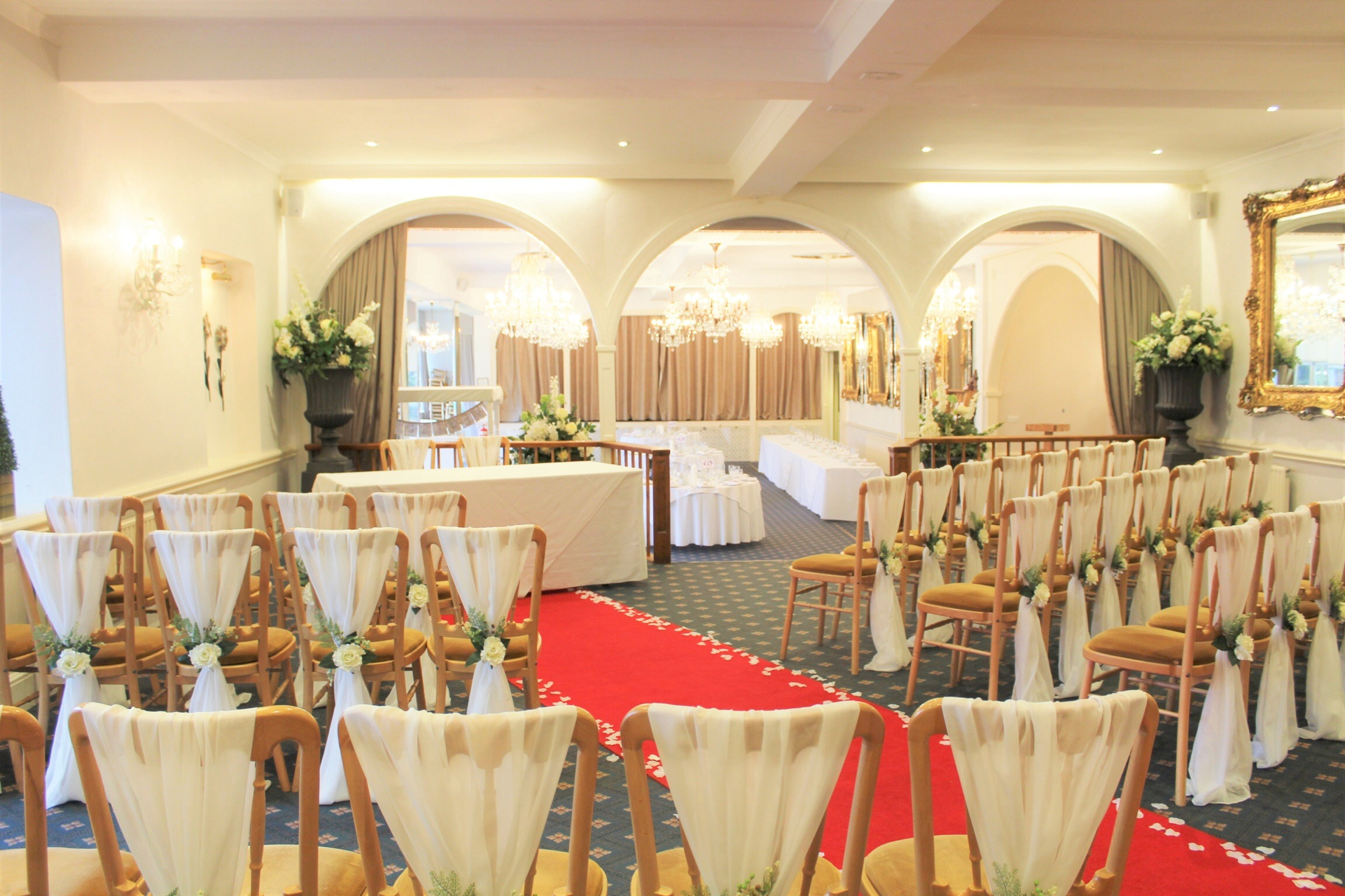 Wedding at the Moorland Garden Hotel.