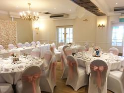 Wedding at the Buckerell Lodge Hotel.