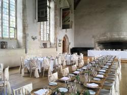 Wedding at Dartington Hall.