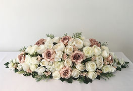 High quality artificial flower arrangements for weddings in Devon and Torbay.