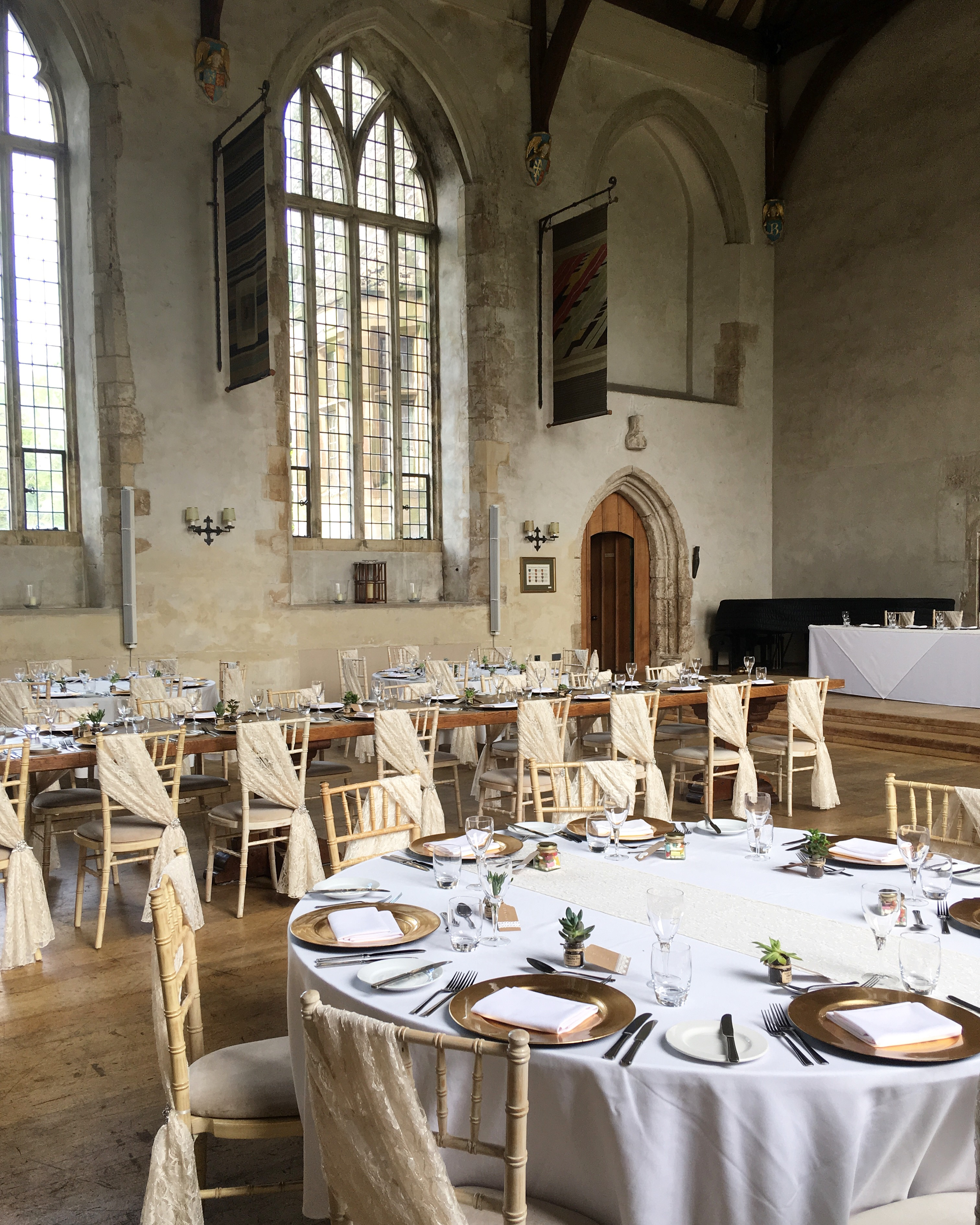 Wedding at Dartington Hall.