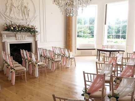 Wedding venue decoration hire in Devon and Torbay.