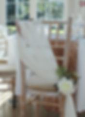 Wedding decor at Rockbeare Manor, Exeter.