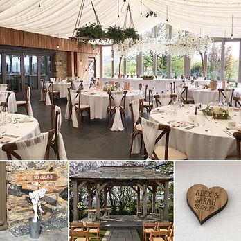 Wedding at Trevenna Barns, Cornwall.