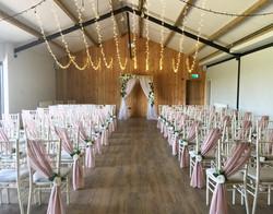 Wedding at Humber Barn.