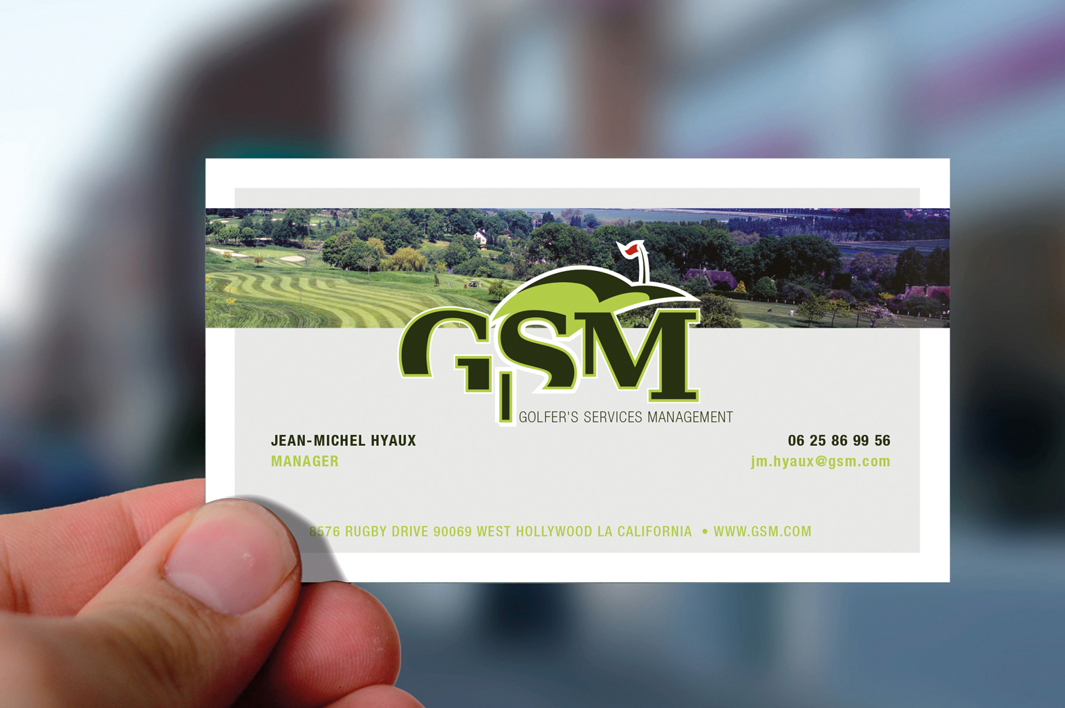 Golfer's Services Management