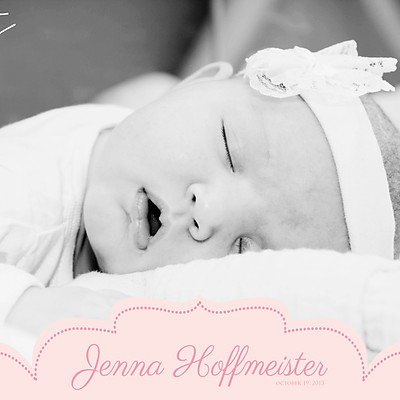 Babyshoot: Jenna Hoffmeister